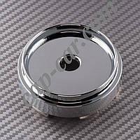 Колпачки заглушки для литых дисков хромированный цилиндр 66/62мм