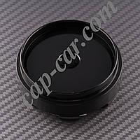 Ковпачки заглушки для литих дисків чорний циліндр 66/62мм