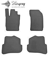 Коврики резиновые в салон Audi A1  2010- Комплект из 4-х ковриков Черный в салон. Доставка по всей Украине. Оплата при получении