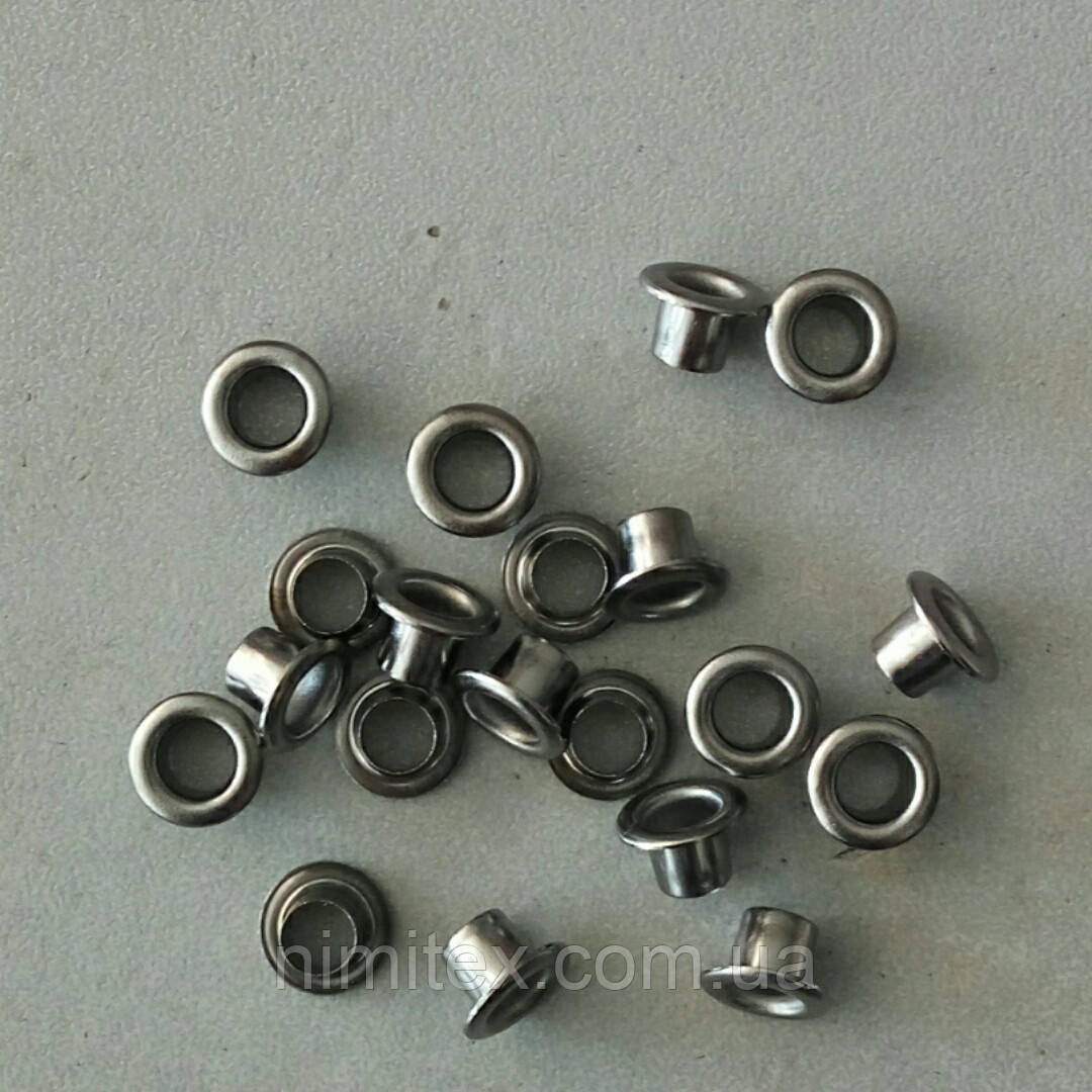 Блочка №2 - 4 мм (с шайбой) черный никель