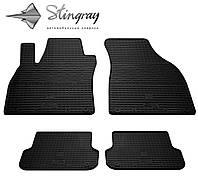Для автомобилистов коврики Ауди А4 (В6) 2000- Комплект из 4-х ковриков Черный в салон