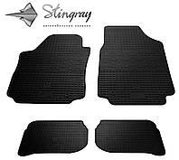 Stingray Модельные автоковрики в салон Ауди A6 (С4) 1990-1997 Комплект из 4-х ковриков (Черный)