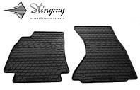 Для автомобилистов коврики Ауди А4 (В8) 2007- Комплект из 2-х ковриков Черный в салон