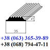 Резиновая вставка в противоскользящие накладки 35х5 мм