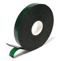 Скотч двустороний 3М длина 25м,ширина 10 мм полиуритановый зеленый