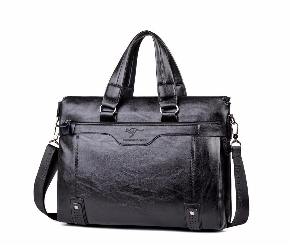 0f1350e82e29 Мужская сумка-портфель под формат А4 Черная КС21: продажа, цена в ...