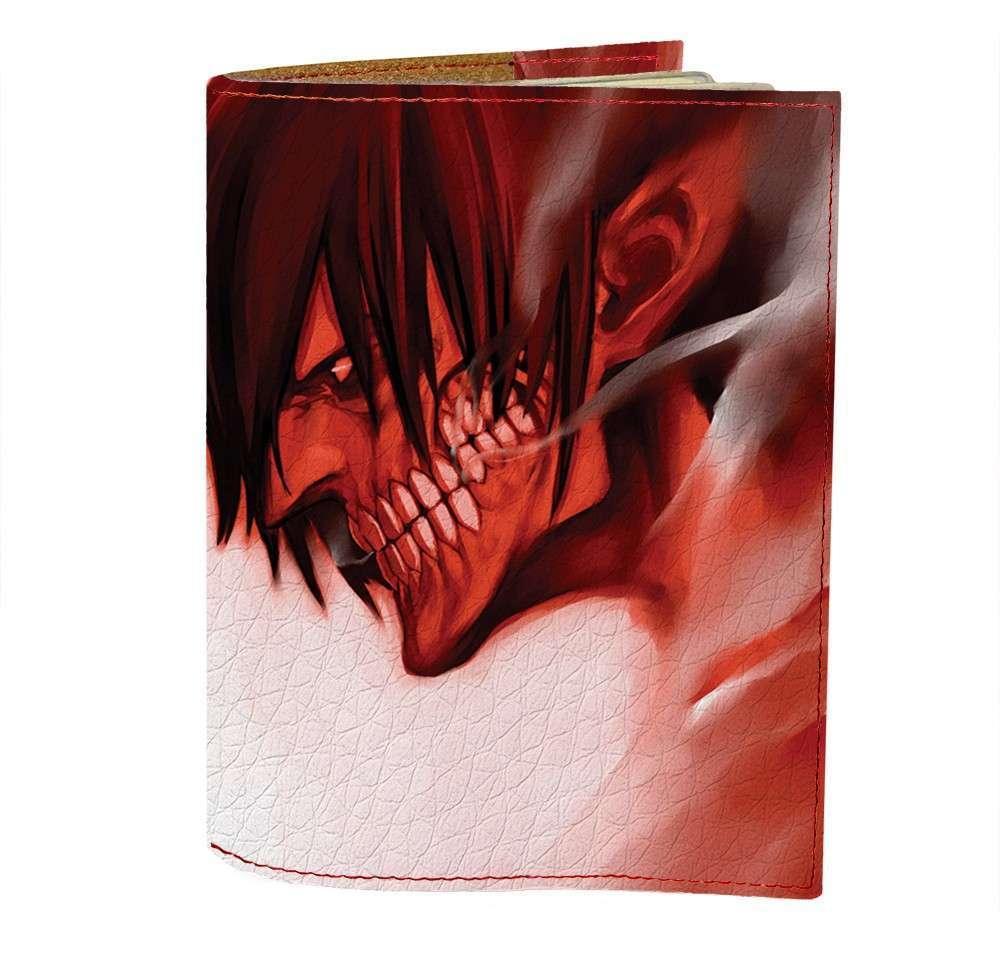 Обложка на паспорт v.1.0. Fisher Gifts 410 Attack on Titan 5 (эко-кожа)