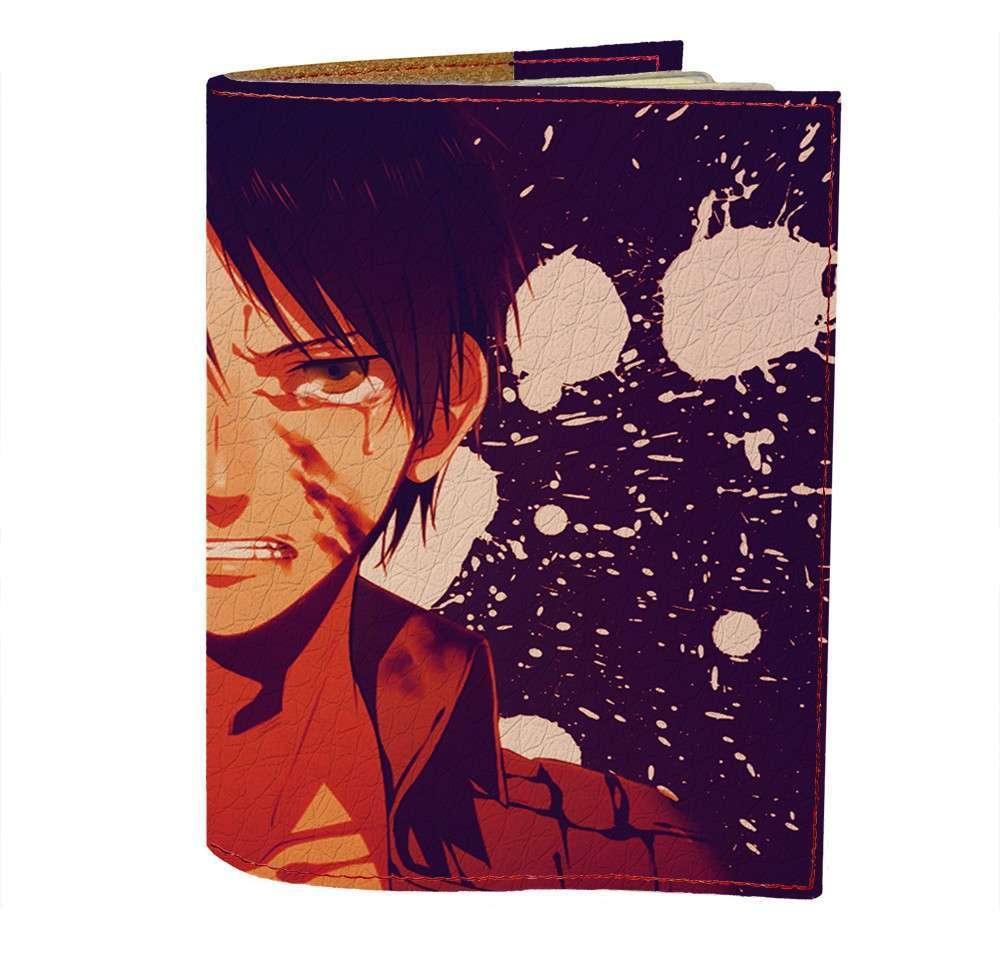 Обложка на паспорт Fisher Gifts 411 Attack on Titan 6 (эко-кожа)