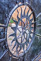 Кованые ворота в Днепропетровске