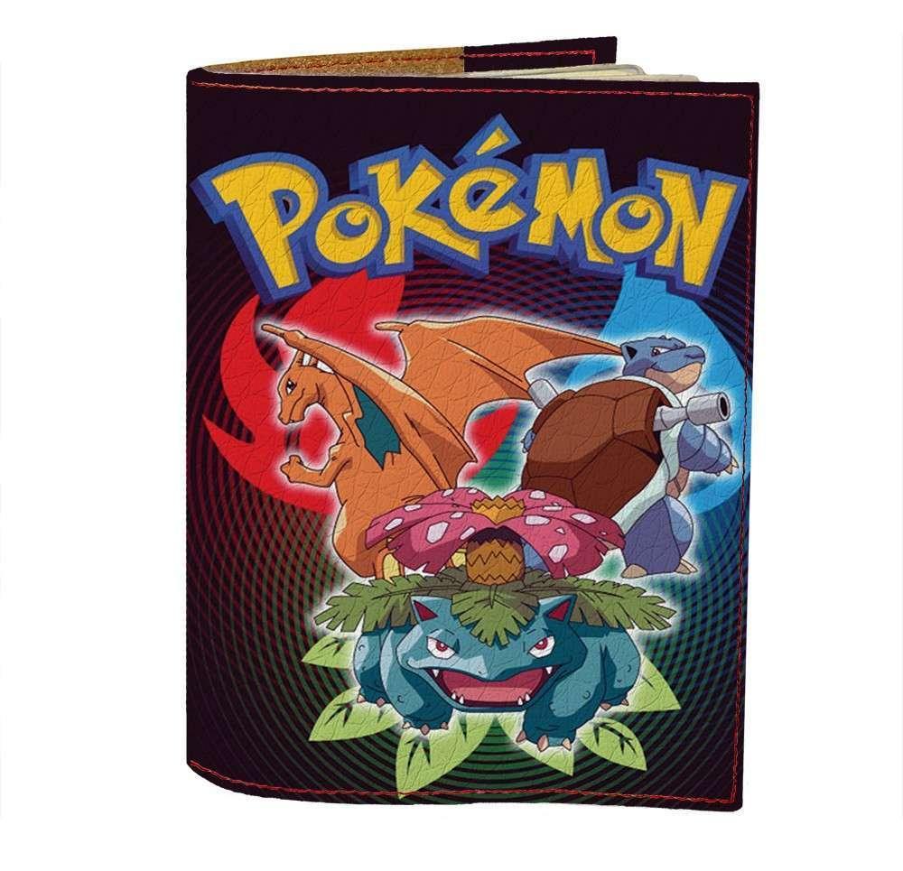 Обложка на паспорт Fisher Gifts 469 Pokemon GO ultra (эко-кожа)