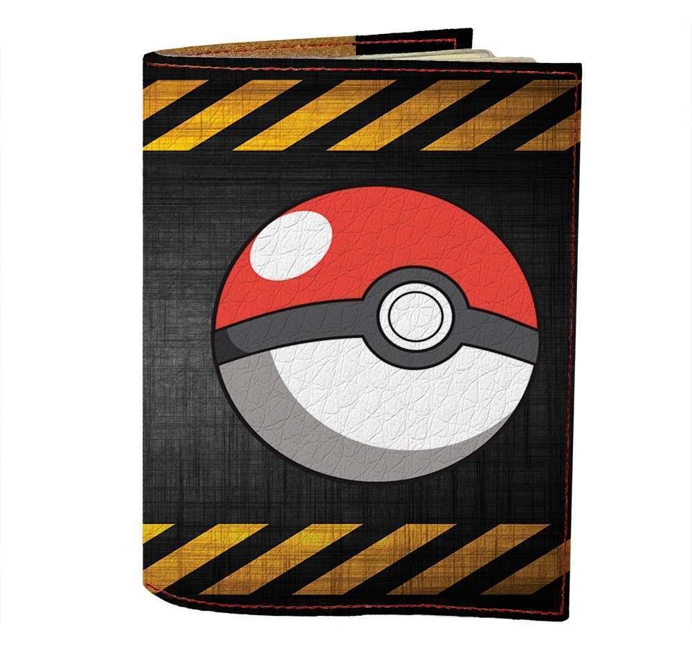 Обложка на паспорт Fisher Gifts 470 Pocketball (эко-кожа)
