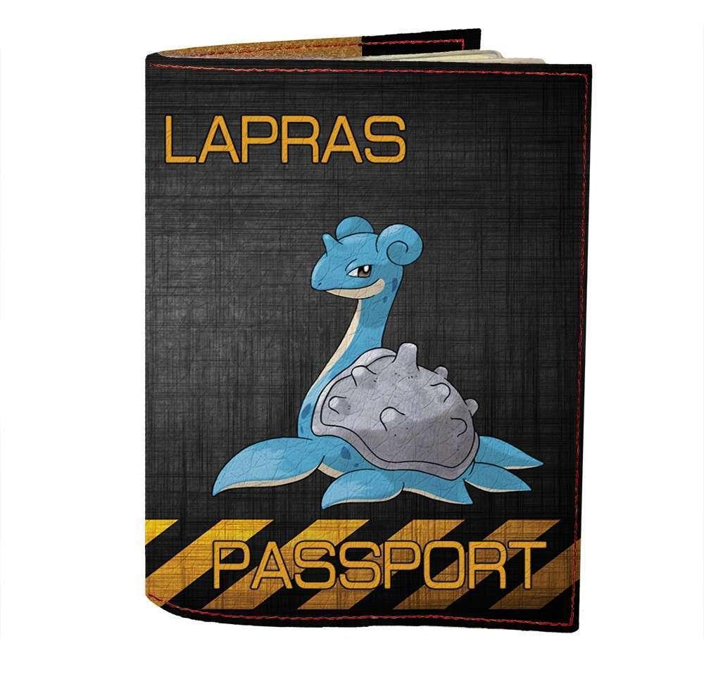 Обложка на паспорт v.1.0. Fisher Gifts 480 Lapras (эко-кожа)