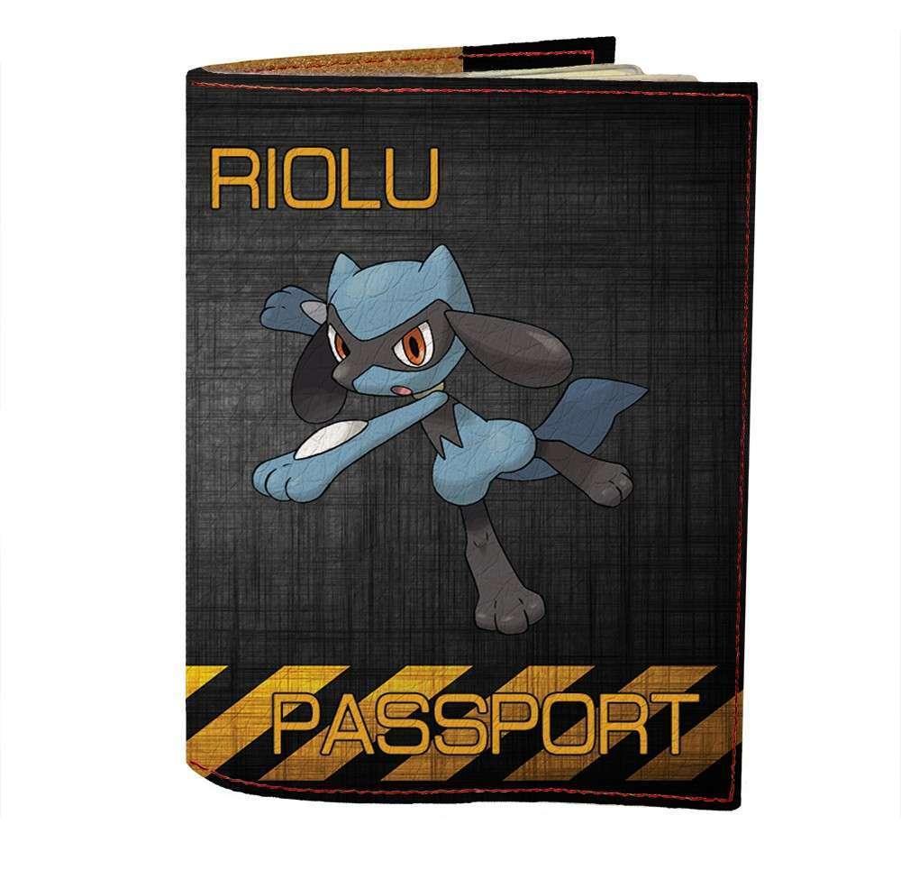 Обложка на паспорт v.1.0. Fisher Gifts 489 Riolu (эко-кожа)