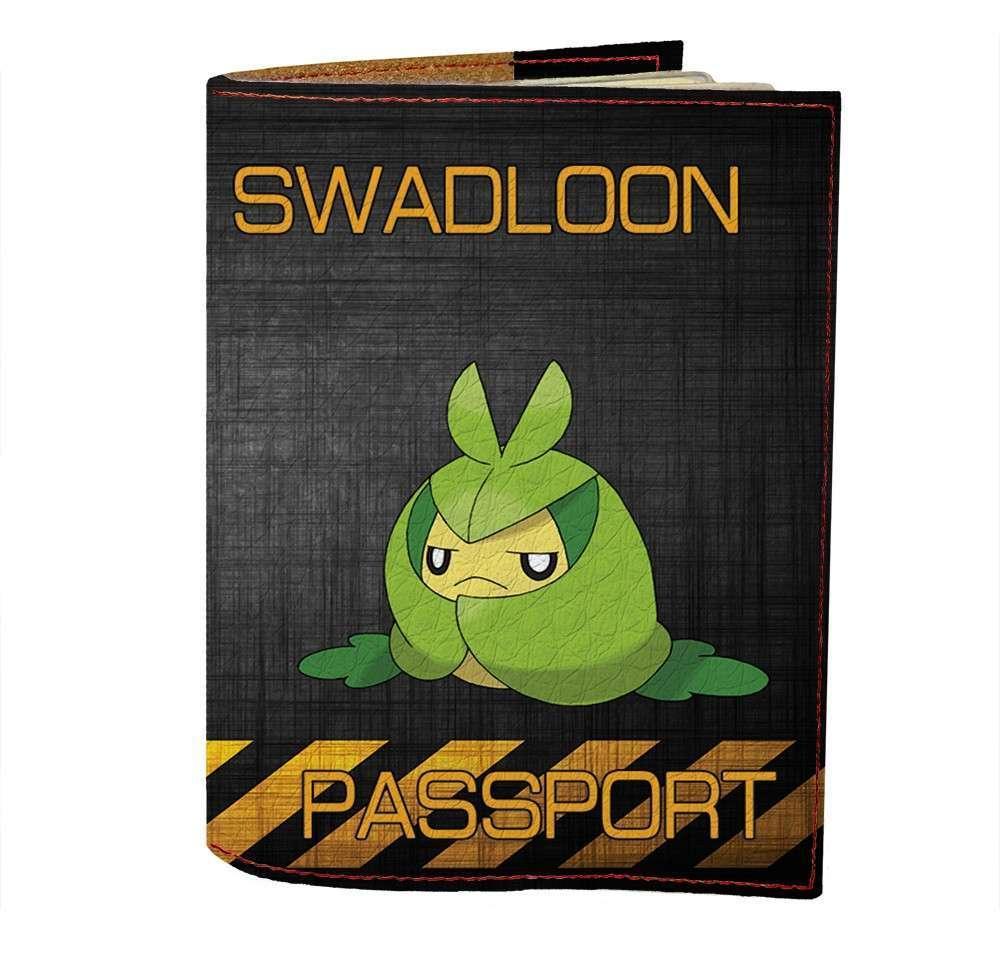 Обложка на паспорт Fisher Gifts 494 Swadloon (эко-кожа)