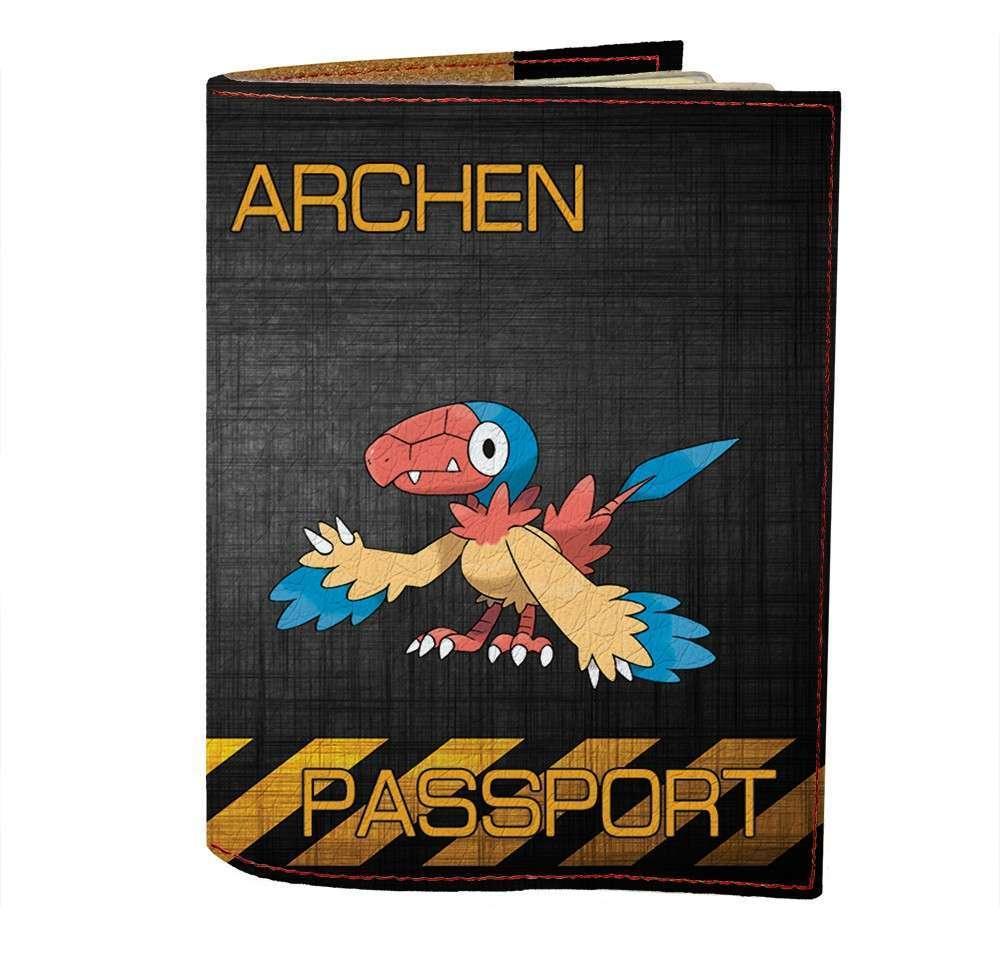 Обложка на паспорт v.1.0. Fisher Gifts 495 Archen (эко-кожа)
