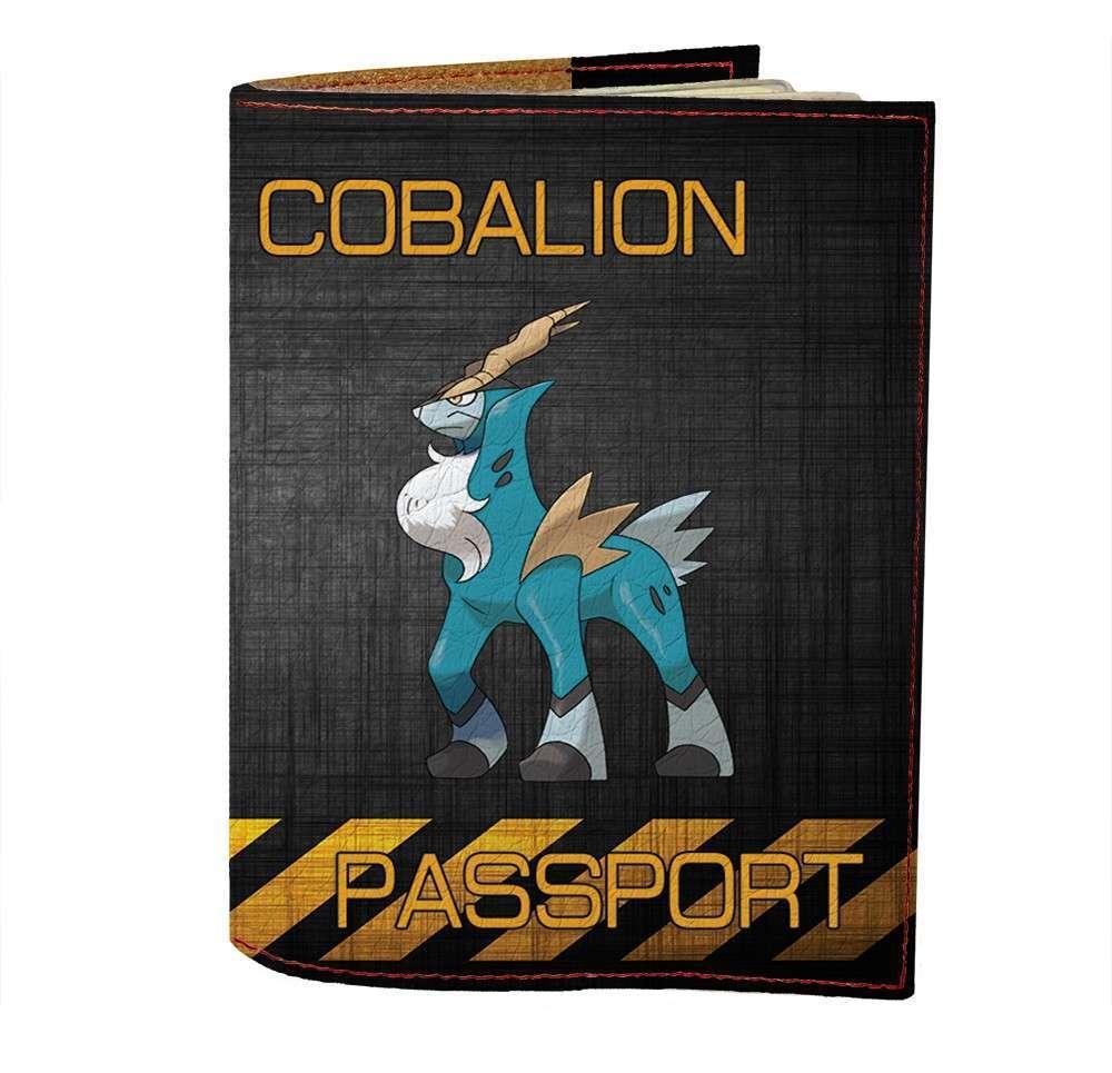 Обложка на паспорт Fisher Gifts 498 Cobalion (эко-кожа)