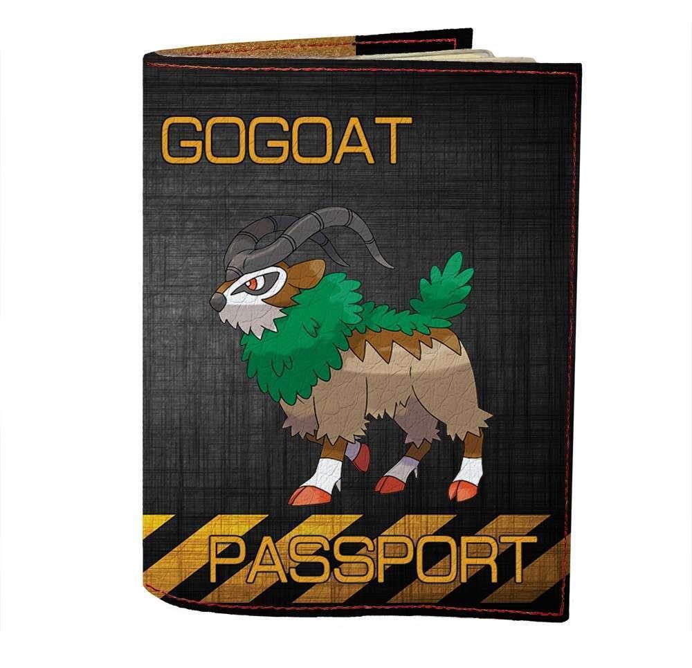 Обложка на паспорт Fisher Gifts 503 Gogoat (эко-кожа)