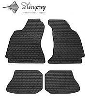 Коврики резиновые авто Ауди А4 (В5) 1995- Комплект из 4-х ковриков Черный в салон