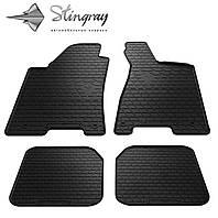 Резиновые коврики Stingray Стингрей Ауди 80 (B4) 1991- Комплект из 4-х ковриков Черный в салон. Доставка по всей Украине. Оплата при получении