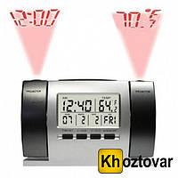 Электронные цифровые проекционные часы с метеостанцией DS-503