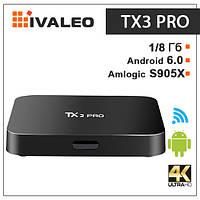 Приставка для ТВ  Tanix TX3 Pro