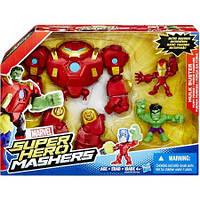 Разборная фигурка супер героев Marvel Железный человек и Халк
