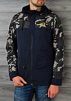 Куртка мужская, ветровка, демисезонная, весенняя, осенняя 3 цвета!
