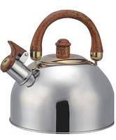 Чайник со свистком BOHMANN  BHL-622 , 2,5л, нержавеющая сталь