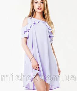 Свободное платье с воланом (Ирина leo)