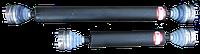 Кардан на шрусах НИВА короткий  Серп и Молот