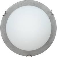 Светильник декоративный 2х60w Декора 24140 серебро