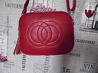 Стильная красная сумка в стиле Gucci