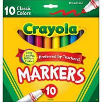 """Фломастеры """"Crayola"""" 10шт"""