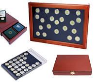 Витрины, кассеты, боксы для монет