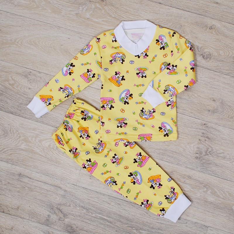 Пижама для девочки с манжетами (интерлок)