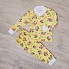 Пижама для девочки с манжетами( разные расцветки)