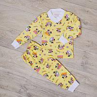 Пижама для девочки с манжетами (интерлок), фото 1