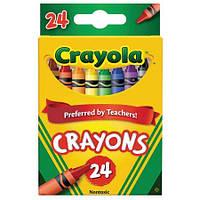 Восковые карандаши Крайола, 24 шт