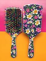 Расческа, щетка массажная для укладки и сушки волос SALON Volume S Brush New