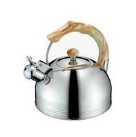 Чайник со свистком PETERHOF SN-1405 , 2,5л, нержавеющая сталь