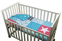 Покрывало в детскую кроватку 75х130 Руно Звезда Остра