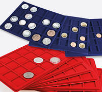 Комплектуючі до кейсам, боксів, вітрин, касет для монет. Планшети