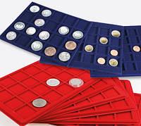 Комплектующие к кейсам, боксам, витринам, кассетам для монет. Планшеты