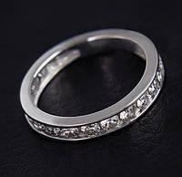 Женское кольцо из белого золота с бриллиантами С29Л1№23