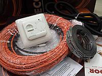 """Теплый пол ( кабель для обогрева ) в коплекте с регулятором """"FENIX"""" 3.8  м.кв"""