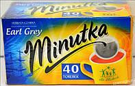 Чай черный  Minutka 40 пак. с бергамутом
