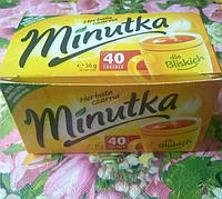Чай черный  Minutka пакетированный 40 пак.
