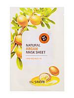 "The Saem Natural Sheet - Тканевая маска с натуральным экстрактом ""Арган"", 20 мл"