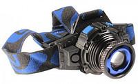 Фонарь светодиодный 064-XQ-22 аккумуляторный, налобный T6