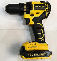 Бесчеточный ударный аккумуляторный шуруповерт Stanley SBH20S2K